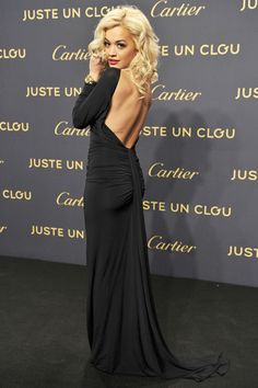 Rita Ora at the Cartier Juste un Clou Exhibit Party #ritaora #party #redcarpet