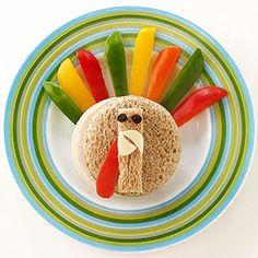 Play with Your Food: Talkin' Turkey (via Parents.com)