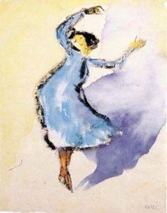 Emil Nolde「Dancer」(1910)