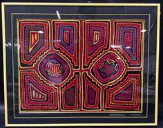 Traditional Framed Kuna Mola