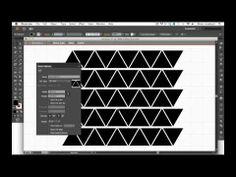 making Geometric Patterns in Illustrator CS6: video tutorial by Alma Loveland