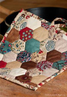 Прихватки без швейной машины - МК / Potholders tutorial - Вечерние посиделки