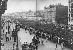 prisoned Hitler's troops in parade, 1944, the WW2 is not yet end