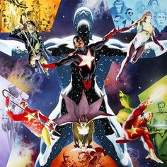 Star man by Alex Ross