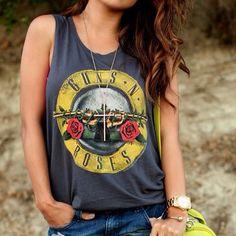 Guns N' Roses Bullet Logo T-Shirt