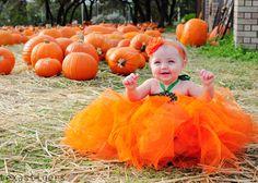 Texas Tigers: Pumpkin tutu dress
