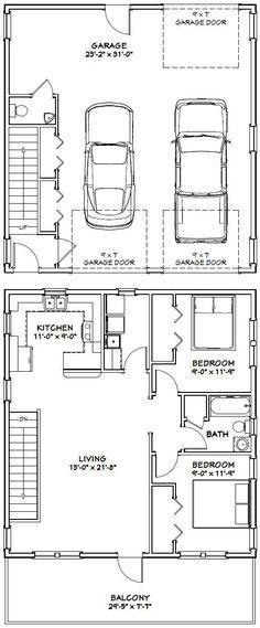 excellent 30x30 garage plans. PDF house plans  garage shed 30x32 House 30X32H1 961 sq ft Excellent Floor Plans Shed