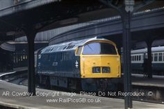 Colour Photo of BR Class 52 Western Diesel D1048 at Paddington 1974 Click to purchase now from the RailPicsGB online shop. #Railway #Class52 #BR #BritishRail #RailBlueLivery