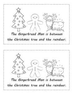 $ Gingerbread Man Common Core Positional Words for Kindergarten. Students use a manipulative gingerbread man to physically place the man in the various locations. PLUS, rate this item after download and receive a FREE one dollar item! Kindergarten Language Arts, Kindergarten Literacy, Kindergarten Christmas, Literacy Activities, Gingerbread Man Activities, Christmas Activities, Holiday Crafts For Kids, Holiday Themes, Creative Teaching