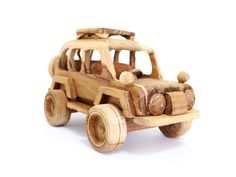 Wooden Toy Sport Utility Vehicle in Handmade op Etsy, $14.31