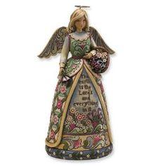 Jim Shore Heartwood Creek Garden Angel Figurine