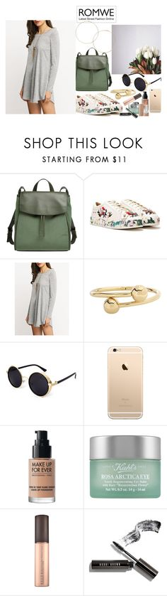 """""""Swinging in the backyard"""" by nicolepuppy ❤ liked on Polyvore featuring Skagen, Nasty Gal, J.W. Anderson, MAKE UP FOR EVER, Kiehl's, Bobbi Brown Cosmetics and Marc Jacobs"""