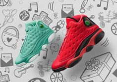 714af572ef24 Air Jordan 13 What Is Love Pack Release Date. The Air Jordan 13 What Is  Love Pack releases November 2016 for Chinese Singles Day.