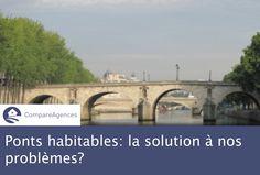 #Immobilier : Et si les #ponts #habitables était la solution à tous nos problèmes de logements ? #crise #logement