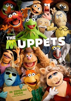 MUPPETS!!! i love them....the lovers the dreamers and me