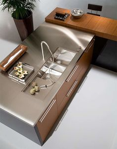 ♂ Contemporary interior design Luxury kitchen sinks