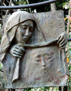 Via Crucis VII Vii, Garden Sculpture, Outdoor Decor, Home Decor, Jesus Face, Decoration Home, Room Decor, Interior Design, Home Interiors
