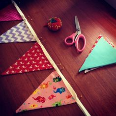 Make your own pennant bunting with this complete tutorial.