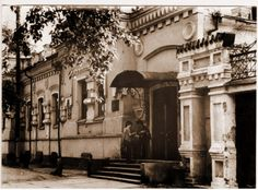 The Ipatiev house in 1976, a   year prior to its demolition ordered by Yeltsin