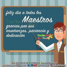 Feliz día a todos los #maestros en su día, gracias por sus #enseñanzas, paciencia y conocimientos. 😊🤗👨🏫 📞01 229 1508316 📱 WhatsApp 2291476029 📨 turismoenveracruz@gmail.com 🌐 http://www.veracruztour.com/