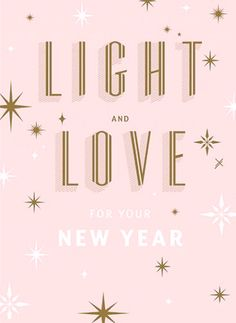 happy new year light and love new year new years eve wishes new year