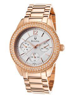 Bulova Rose Gold Watch - need!
