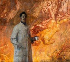 Carl von Marr - The Painter (Pius Ferdinand Messerschmitt)