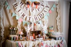 Milk and cookies party for boy-girl twins by Designs by Kimberly Francom featured on Kara's Party Ideas