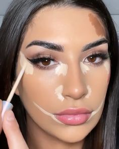 Eye Contour, Contour Makeup, Kiss Makeup, Makeup Eye Looks, Love Makeup, Eye Makeup Images, Makeup Order, Pinterest Makeup, Models Makeup