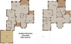 Alvorada B1 - Arabian Ranches - Dubai Floor Plans