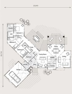 Home Building, Wooden Floor & Timber Frame House Plans New Zealand semi winged lockwood plans