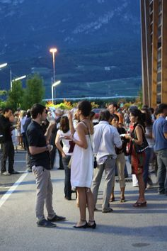 Serata alla Cantina Sociale di Trento 2012 #DOCcinemaincantina