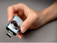 Camera-shaped USB flash disk