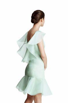 La invitada perfecta segun la colección de Juanjo Oliva para Elogy a la venta en el Corte Inglés: Los tejidos