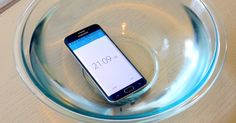 Samung Galaxy S6 Edge water submerged