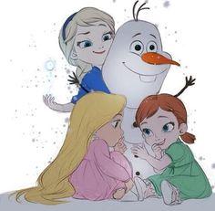 já,sestřenka Eliška a Emmička