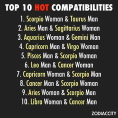 Sex with a scorpio man