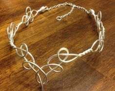 Elven Circlet QUEEN BEE Celtic Hand Wire by RefreshingDesigns