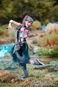 Lindsey Stirling found her on Pandora and she is such a good violin girl.