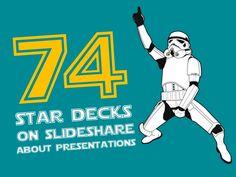 74 Star Decks on Slideshare by esPrezo via slideshare
