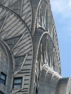Chrysler building. Looking up from across the street at Grand Central Station. My photo.