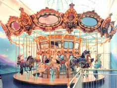 Brass Ring Carousel Company, Americas Most Experienced Carousel Company Mi Images, Merry Go Round Carousel, Steampunk Circus, Vacations To Go, Circus Art, Fun Fair, Carousel Horses, Seaside Towns, Moon Goddess