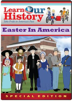 In this special free film, your children will go on an exciting adventure back in time to learn how the Easter holiday and all it represents has played a major role in shaping our American heritage.   To receive this free DVD click on pin.
