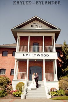 Hollywood School House Wedding | Woodinville Wedding Venues | Kaylee Eylander Photography