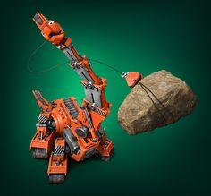 Dinotrux | Character Pose | TEN30 Studios