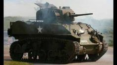WWII M3 Stuart - YouTube