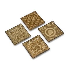 """Square Dish 5"""" Sepia Set Of 4, $24, now featured on Fab."""