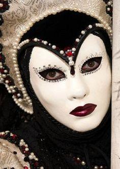 Ulrike Walz - Carnival in Venice - own Costume