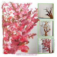 Japanske kirsebærtræer - 2.klasse