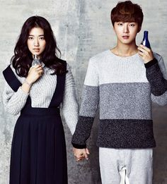 Yoon Shi Yoon and Park Shi Hye